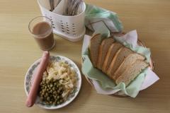 Горячий завтрак